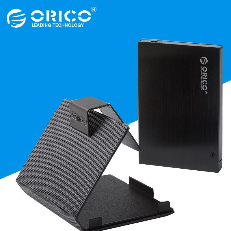 "ORICO 25AU3 Aluminum USB 3.0 to 2.5"" Sata External HDD Enclosure Case w/ Sleeve for 7.0 to 9.5mm 2.5-Inch SATA-I/II/III HDD(China (Mainland))"