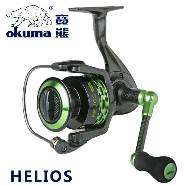 Okuma brand helios series super light fishing spinning for Okuma fishing usa