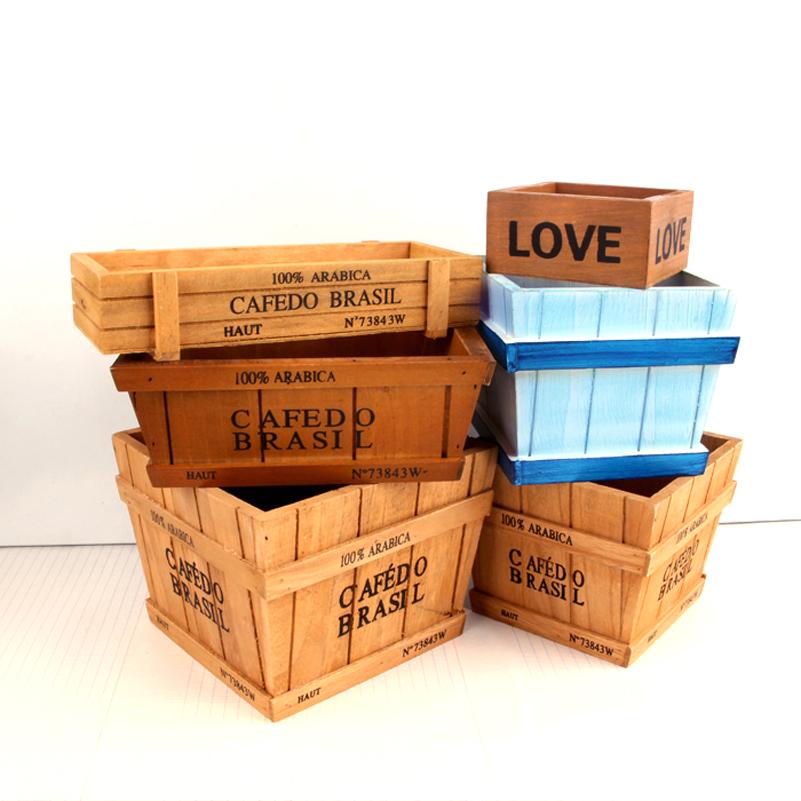 Compra cajas de madera online al por mayor de china mayoristas de cajas de madera aliexpress - Cajas de madera online ...