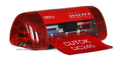 Mini Vinyl Cutter Cutok DC240, PU PVC A4 Size Mini Desktop Portable Cutting Plotter(China (Mainland))