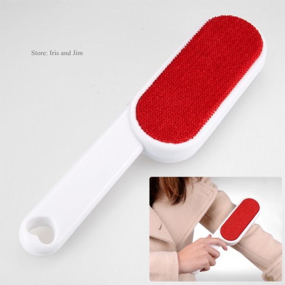 Magic Lint Dust Brush Pet Hair Remover,Double Faced Anti-Static Hair Brush Clothes Dust Brush Sticky Lint Sticking 12(China (Mainland))