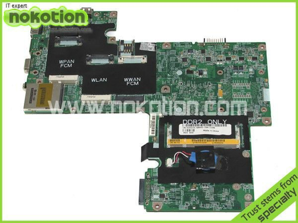 laptop motherboard for DELL INSPIRON 1720 series 0UK435 INTEL 956PM NVIDIA GeForce 8600M GT DDR2 Mainboard 100% full tested(China (Mainland))