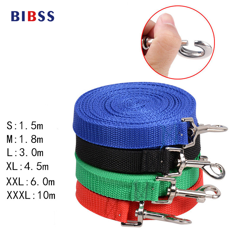 Dog Pet Lead Leash for Dogs Cats high Quality Nylon Walk the dog leash Selectable size Training dog harness free shipping(China (Mainland))