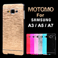 Phone Case For Samsung Galaxy A3 A5 A7 2015 Aluminum Metal Cover Plastic Hard Cases For