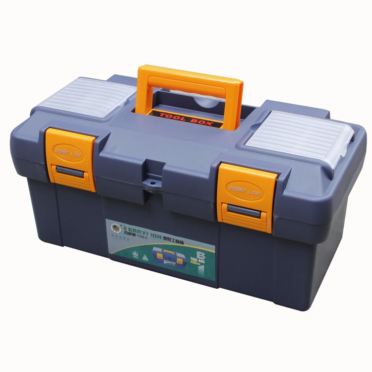 Budweiser lion thick high-grade ABS plastic tool box kit box storage box totes fishing(China (Mainland))