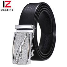 Buy DESTINY Designer Belt Men Luxury Famous Brand Male Genuine Pu Leather Strap Wedding Jeans Silver Gold Belt Ceinture Homme Cinto for $8.38 in AliExpress store