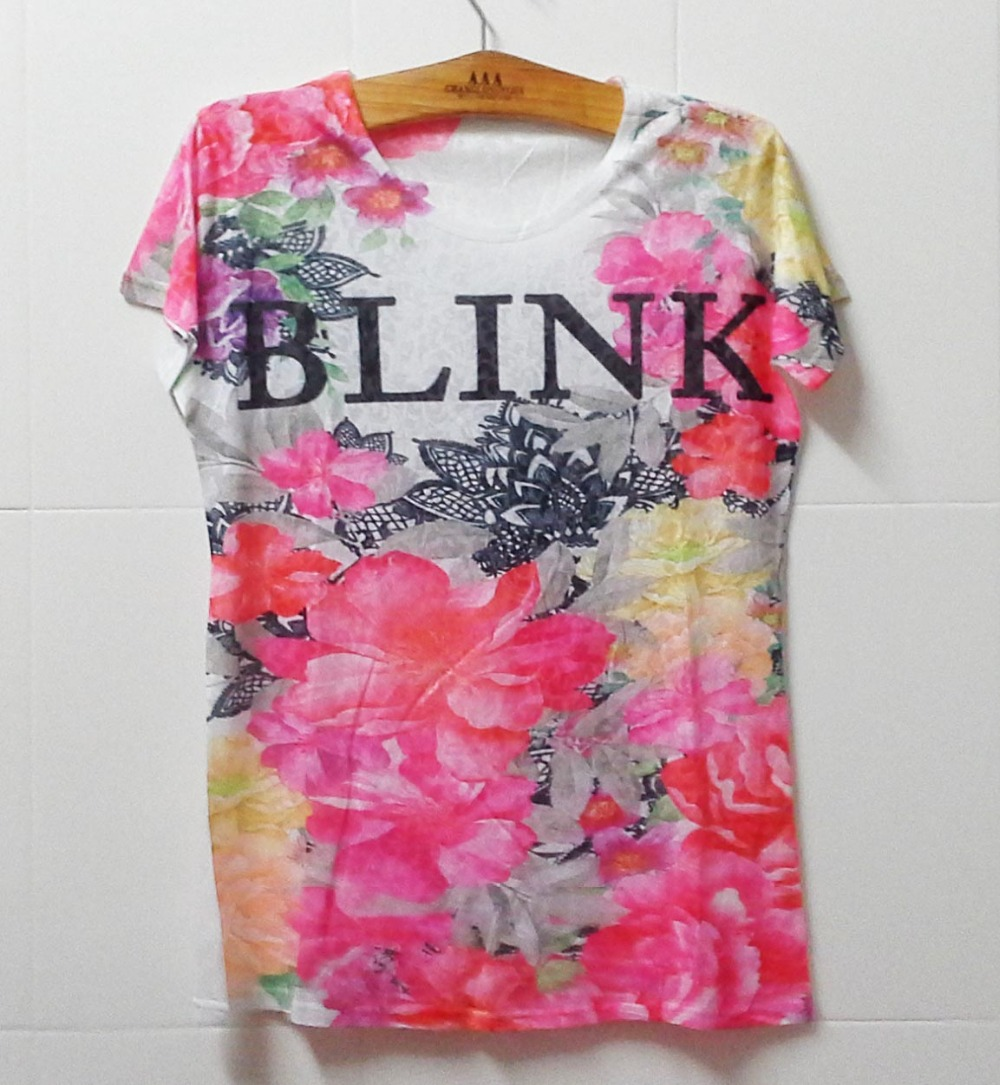 2015 Summer Fashion plus-size woman t-shirt Free shipping Digital Printing crop tops West style harajuku women tshirt tee shirts(China (Mainland))