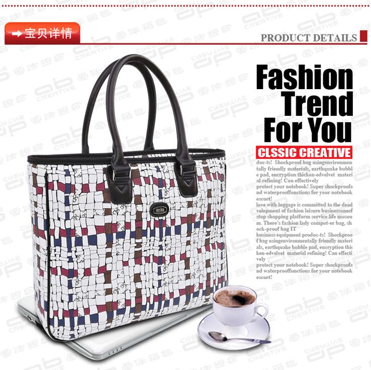free shipping 2015 new women 14'' laptop tablet bag messenger bag ladies brand handbag briefcase tote new items MB115(China (Mainland))