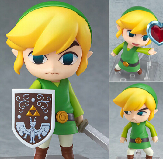 Гаджет  Legend of Zelda Link Nendoroid 413# Link The Wind Waker Ver. 10CM The Legend of  Zelda Link Figure Game Legend of Zelda  Model None Игрушки и Хобби