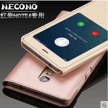 Buy ALIVO For Xiaomi Redmi Note 4x case leather, Original Luxury Flip Leather with view window flip case for Xiaomi Redmi Note 4x for $5.64 in AliExpress store