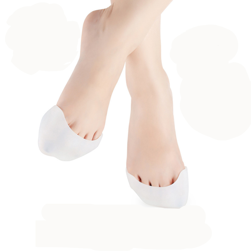 2PCS=1Pair Stylish Feet Care Professional Silicone Foot Pointe Toe Cap Cover Soft Pads Protectors For Pointe Ballet Shoes New(China (Mainland))