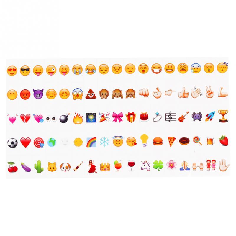 wholesale emoji symbols glyphs cards for a4 cinema light box