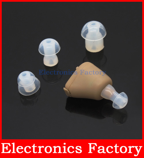 Digital Rechargeable Sound Voice In Ear Amplifier Adjustable Tone Hearing Aids Aid Device(China (Mainland))