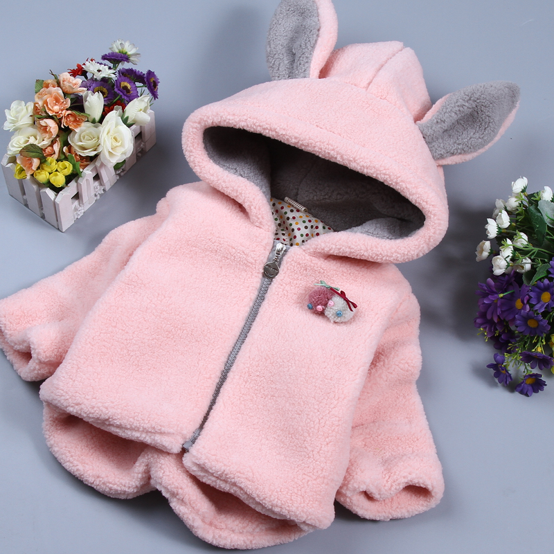 Real Photo! Hot 2016 new Children's autumn and winter baby outerwear autumn and winter wadded jacket Free shipping(China (Mainland))