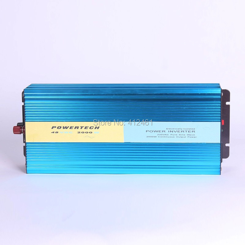 Solar Invertor DC to AC Invertor Pure sine wave 2000w(China (Mainland))
