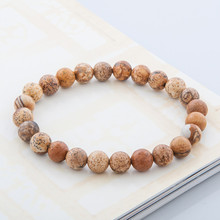 Buy Free High Tiger Eye Buddha Bracelets Natural Stone Lava Round Beads Elasticity Rope Men Women Bracelet gift for $1.50 in AliExpress store
