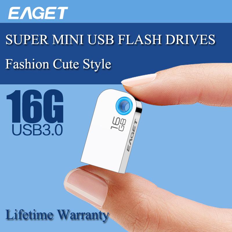 EAGET U85 Pen Drive 16GB Super Mini USB 3.0 Flash Memory Stick 16GB Gift USB Flash Drive 16GB(China (Mainland))