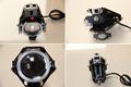 1pcs125W 12V Motorcycle Headlight Motorbike 3000LM U7 LED Driving Fog Spot Head Light Lamp for honda