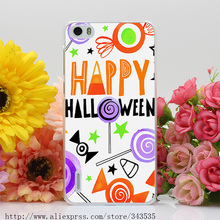290OP HALLOWEEN_CANDIES_CARD_01 Hard Cover Case for Huawei P6 P7 P8 P9 Lite Plus Honor 6 7 4C 4X G7(China (Mainland))