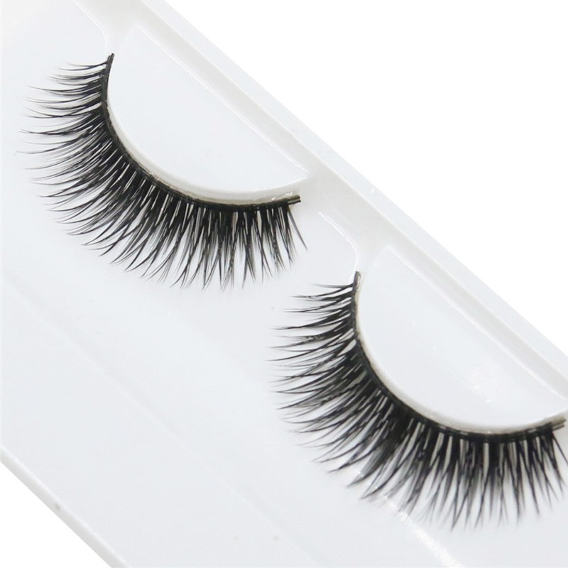 2016 Best Deal New High Quality  Natural Beauty  Dense A Pair False Eyelashes Charming Eye Lashes Makeup 1pc