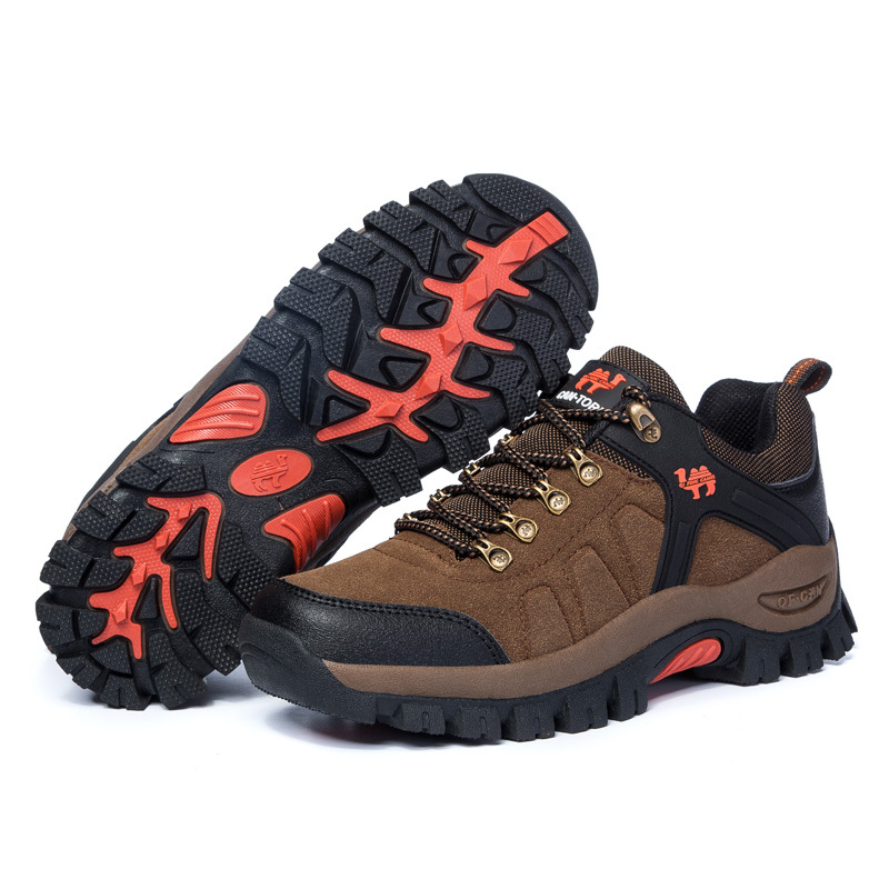 Plus Size 11, 12, 12.5 Mens Hiking Boots Shoes Breathable Waterproof Trekking Climbing Ourdoor Boots Men Sports Shoes(China (Mainland))