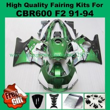 Buy Free screws+gifts for HONDA CBR600F2 91 92 93 94 CBR600 F2 1991 1992 1993 1994 ABS Green black Fairings set for $389.50 in AliExpress store