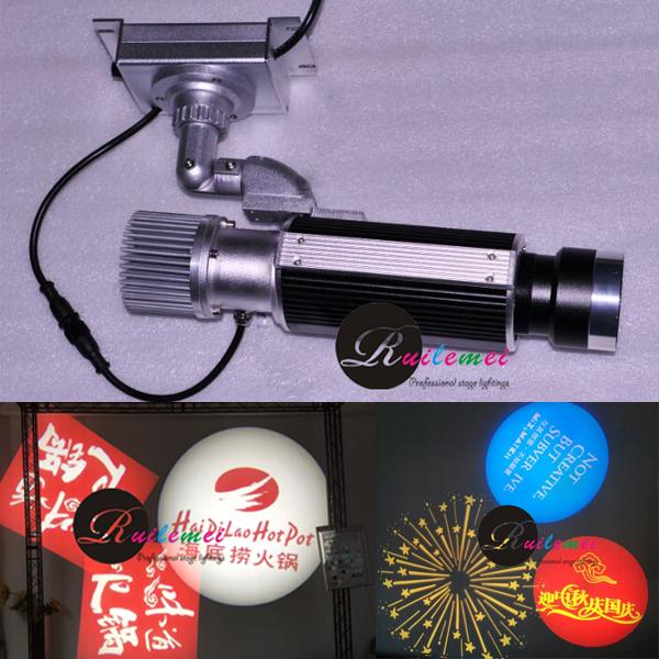 10W LED Gobo Projektor Image Fixation Type TA-Athena-F10 With Customized Single Glass Gobo Slide<br><br>Aliexpress