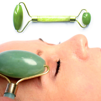 Chinese Royal Jade Roller Facial Face Neck Slimming Massager Beauty Tool New