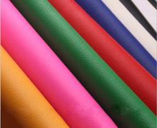 Litchi grain PVC leather high quality super durable litchi grain PVC leather fabric material(China (Mainland))