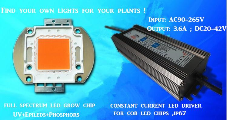 Actual Power 150w Diy Led Grow Kit 150w Led Grow Light