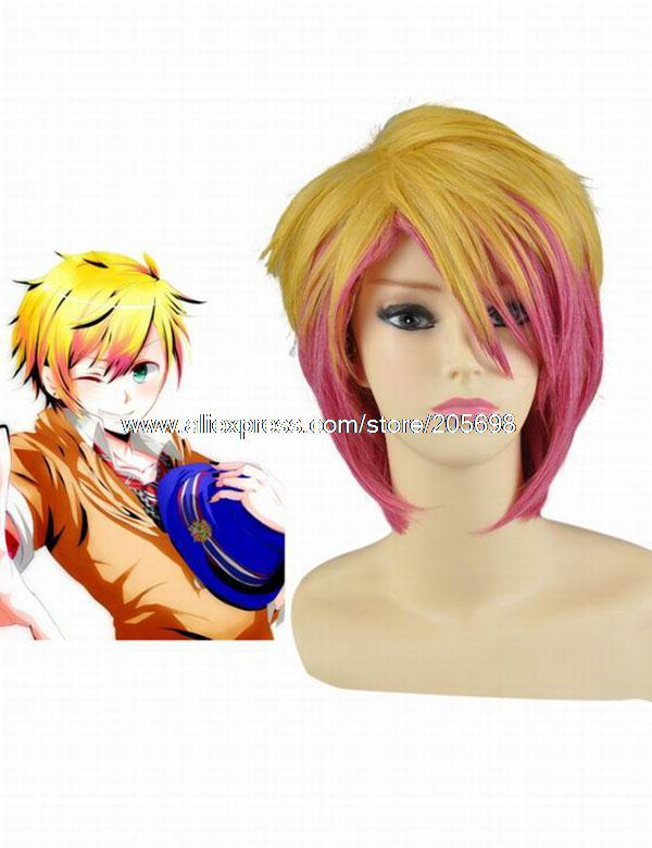 Гаджет  Uta No Prince Sama Syo Kurusu 30cm Cosplay Wig anime halloween christmas Free Shipping None Изготовление под заказ