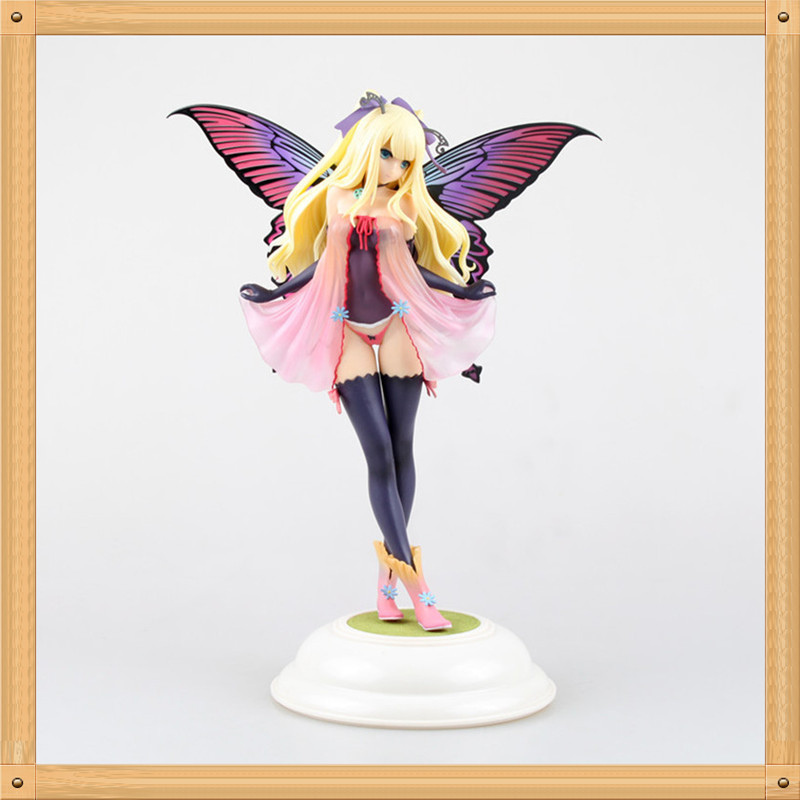 31CM Butterfly Fairy Maiden Annabelle Action Figure 1/5 scale painted sexy cute Annabelle Butterfly Girl Doll PVC ACGN figure<br><br>Aliexpress