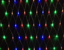 New 2013!  220V Multicolour 96 LEDS 1.5M*1.5cm LED Net String Xmas Cristmas Decoration  Lights Free Shipping<br><br>Aliexpress