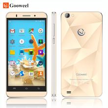 100% Оригинал Gooweel M5 мобильного телефона MTK6580 quad core 5 дюймов IPS экран смартфон 5MP/5MP камера GPS 3 Г сотовый телефон Бесплатный Подарок