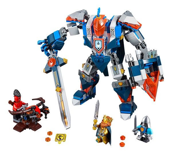 LEPIN Nexo Knights King's Mech Combination Marvel Building Blocks Kits Toys Minifigures Compatible Legoe Nexus - Cy Super store