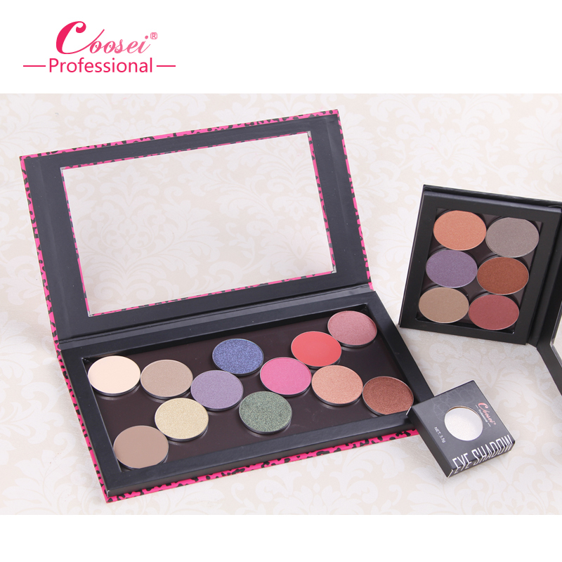 3colors No printing (BLANK) Larger empty makeup palette magnetic eye shadow case cosmetic organizer makeup storage free shipping<br><br>Aliexpress