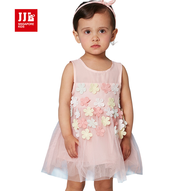 baby girls dress baby clothing party dress for girls princess dressess kids clothing dress infant dress girls(China (Mainland))