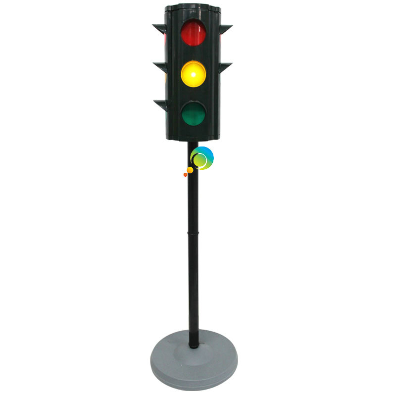 Customized Christmas promotion gifts mini 4 aspectsportable toy traffic light for kids education(China (Mainland))