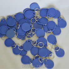 Wholesale 100PCS/Lot  ISO14443A RFID 13.56MHz S50 Smart IC Key Fobs / IC Tag / NFC Tag#3H 1K Memory Re-writable Waterproof(China (Mainland))