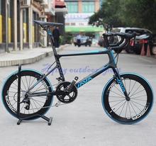 "DIY JAVA Freccia 451 Carbon Mini Velo Bike 20"" 1 1/8"" Minivelo Bicycle With S R A M  APEX Group 20 speed Caliper Brake(China (Mainland))"