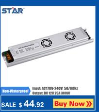 12V 5A 60W החלפת ספק כוח LED רצועת אור שנאי מתאם אלומיניום עבור Ledstrip שאינו עמיד למים