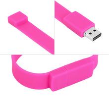 Bracelet Wrist Hand Band 8GB Storage U Disk Pen Drive Memory Flash Stick(China (Mainland))