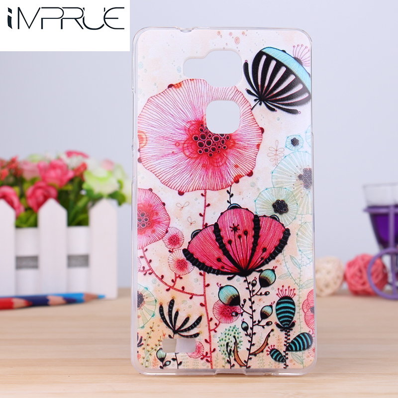 2016 Fashion Cartoon Design Paiting Back Cover Case For Huawei mate7 TPU flexible 20 pattern cell phone cases Doraemon(China (Mainland))