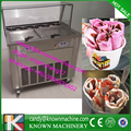 this month after 5 discount 35cm diameter Double square pan 110V fried ice cream machine roll