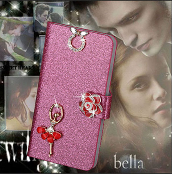 Fashion Stand Brand Cover For HTC EVO 3D X515 G17 Case Flip Wallet Style Phone Pouch For HTC EVO 3D X515 G17 With Beautiful Girl(China (Mainland))