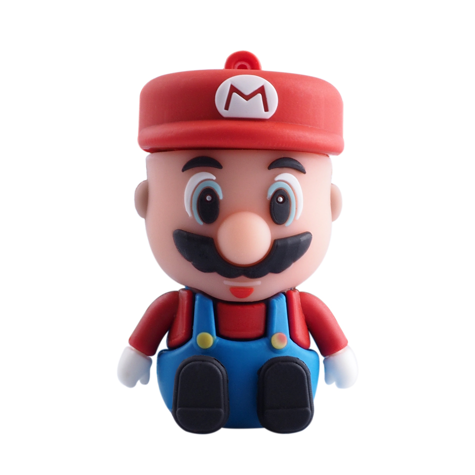 High Speed Super Mario USB Flash Drives USB 2.0 Pen Drive 32GB 16GB 8GB 4GB pendrive USB memory U disk(China (Mainland))