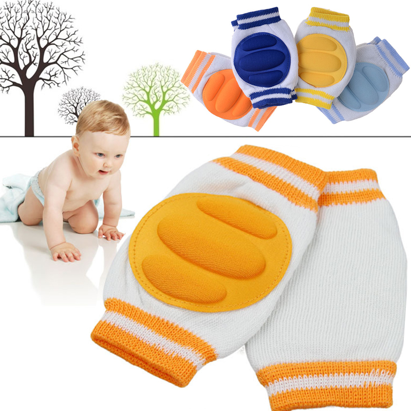 1 Pair Comfortable Baby Kids Toddler Crawling Safety Protector Knee Caps Pads#YE1014(China (Mainland))