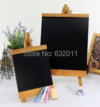 Big size Store POP menu sign handwriting wooden blackboard decorative News Bulletin Drawing Board with support stand(China (Mainland))