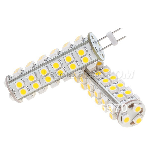 Free Shipment!!! Dimmable GY6.35 Led G6.35 Corn Bulb 51leds 3528SMD White Warm White 12VDC 3W<br><br>Aliexpress