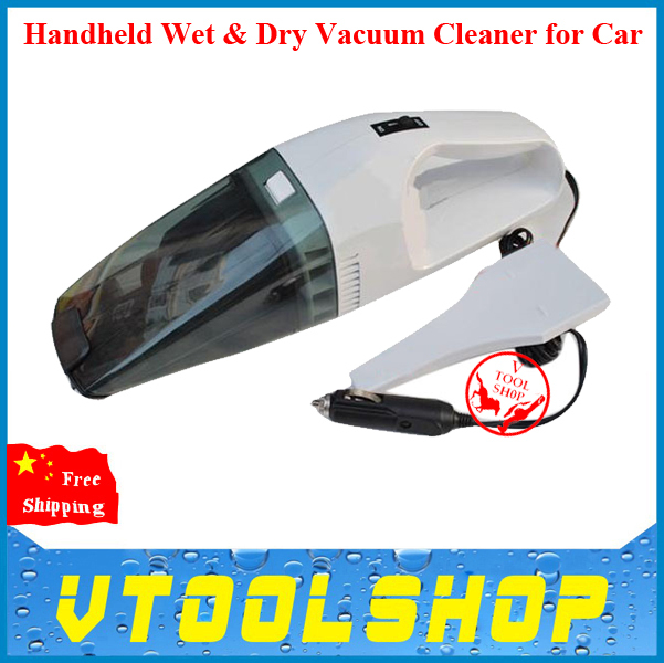 2014 New Arrival ! Superior Handheld Wet & Dry Vacuum Cleaner for Car (DC 12V) Free Shipping Web & Dry Vacuum Cleaner 12V(China (Mainland))